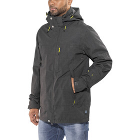 Meru Vättern 3in1 Jacket Men black melange
